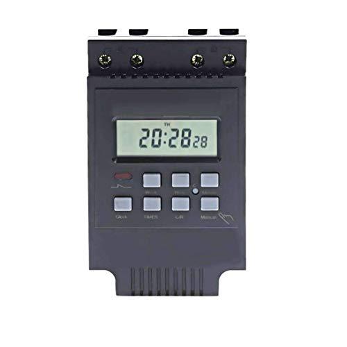 Interruptor temporizador programable del relé electrónico digital LCD TM616B-2 inteligente para el Control del Apagado