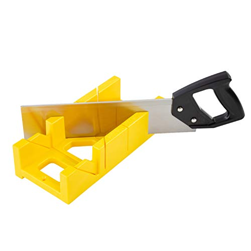 GreatNeck BSB14 12 Inch Mitre Box with 14 Inch Back Saw