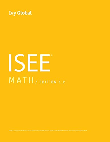 Download Ivy Global ISEE Math 0989651630