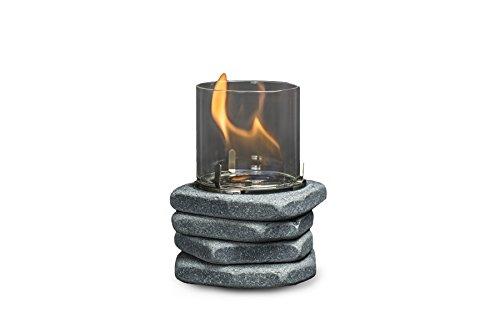 CLIMAQUA Dekovuur, Piero, graniet, 10x10x16 cm, 77515