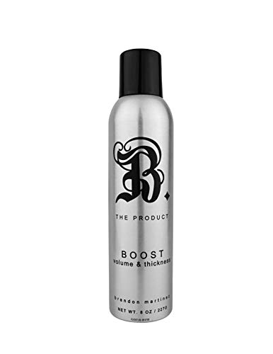 Best Thickening Hair Product-Instant Volumizing Spray, Volumizing Root Boost For Thin Hair, Volumizing Spray For Fine Hair-B. THE PRODUCT BOOST, 8 Ounce.