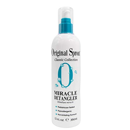 Original Sprout Miracle Detangler For Kids 12 ounce (Packaging May Vary)