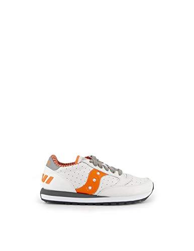 Saucony Zapatillas Edición Limitada De Piel Blanca Y Naranja 10