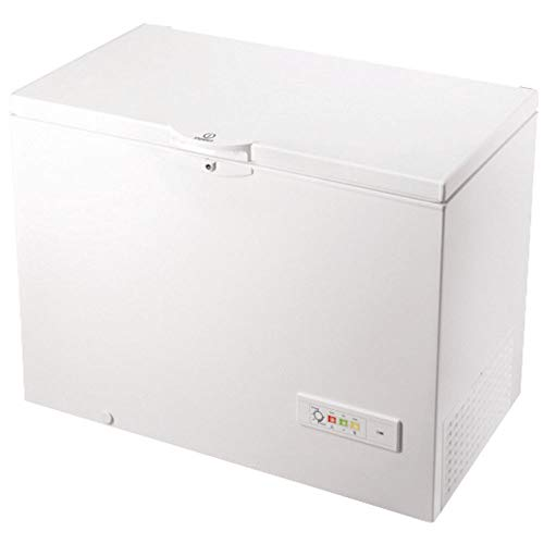 Congelador Horizontal - Indesit OS 1A 300 H2, Capacidad 311 litros, Clase A+, Blanco