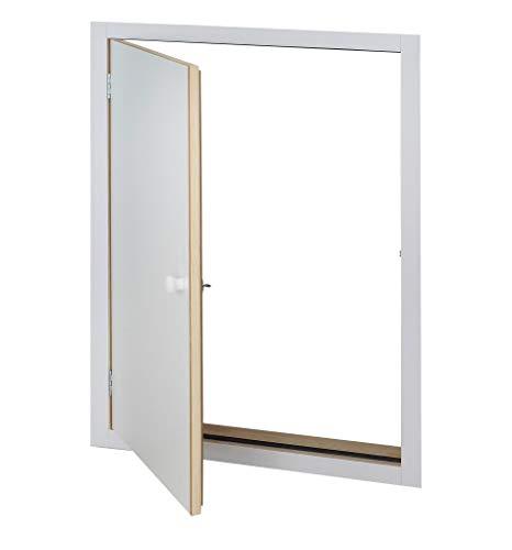 Intercon® Isotherm Kniestocktür Drempeltür fertig vormontiert 4 Maße mit U-Wert 1,22 (110 x 70 cm)