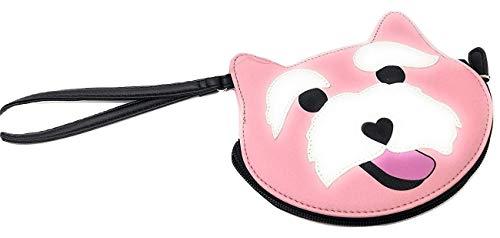 Luv Betsey Johnson Peach Scottish Terrier Geldbörse, Pfirsichfarben