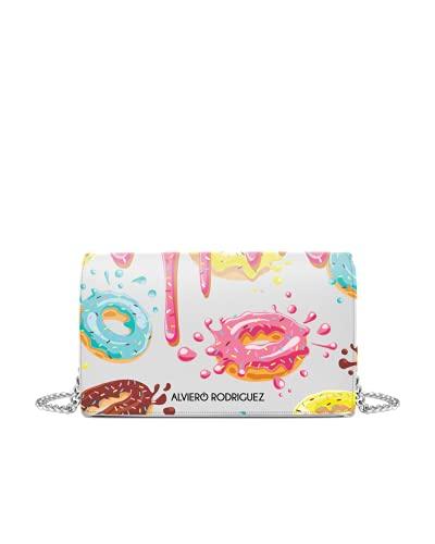 Alviero Rodriguez Borsa Bianca Donuts