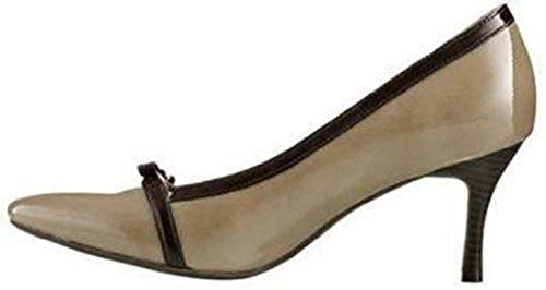 CHILLANY Pumps Lacksynthetik - Taupe Gr. 36