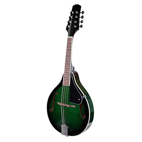 needlid Strumento Musicale mandolino Sunburst, mandolino Classico, Strumento Musicale mandolino in Legno con battipenna, per Adulti