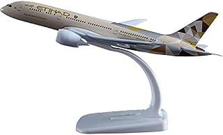 20cm metal alloy aircraft model etihad aerospace Boeing 787 airbus toy