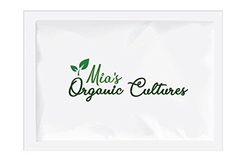 Grains de KÉFIR DE LAIT bio – Grains de kéfir de lait bio de vaches nourries à l'herbe, cultivées par Mia's Organic Cultures®
