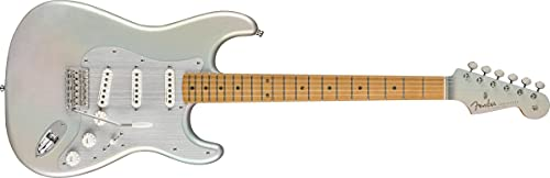Fender 6 String Solid-Body Electric Guitar, Right, Chrome Glow (0140242343)