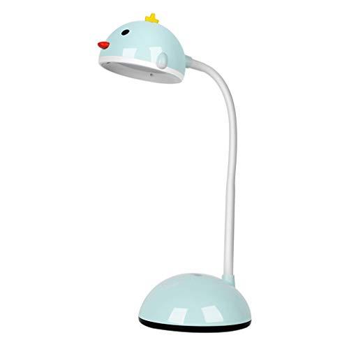 lámpara de mesita de noche Lámpara de escritorio LED for Chick Kids Eye-cuidado estudio de la lámpara de control táctil de atenuación de la luz ajustable del cuello de cisne lámpara de escritorio for