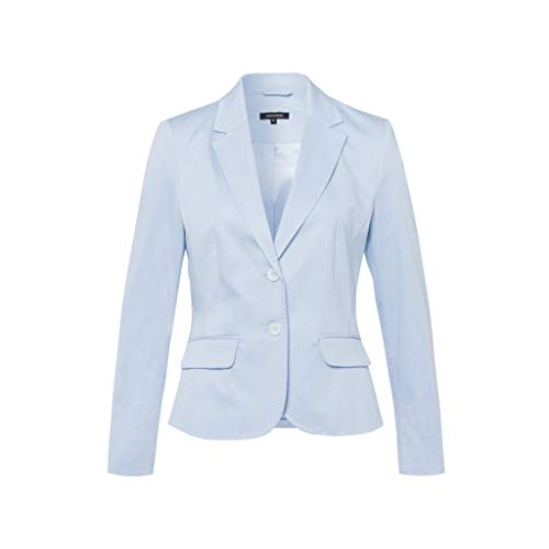 More & More CO-Satin Blazer Active, blau(summerblue (0314)), Gr. 42