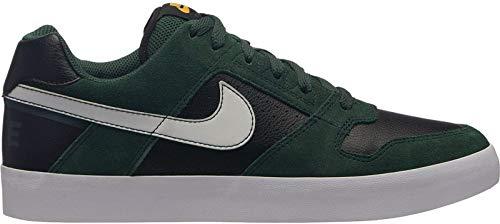 Nike SB Delta Force Vulc, Zapatillas para Hombre, Multicolor (Midnight Green/White/Black/White 001),...