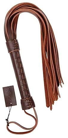 HUSHUS Látigo de caballo/látigo de cuero para herramientas de enseñanza y formación