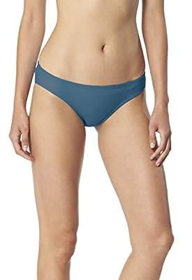 Speedo Women's Swimsuit Bottom Bikini PowerFlex Hipster Solid - Manufacturer Discontinued