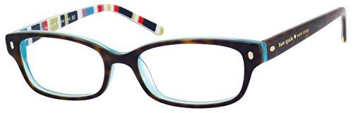 Kate Spade Lucyann Eyeglasses-0X77 Tortoise Aqua Striped-49mm