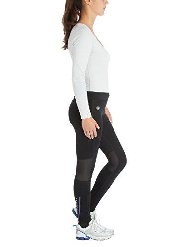 Ultrasport Professional Damen Funktions-Laufhose Windprotect mit Windstopper,Winterlaufhose, Sporthose, Kompressionswirkung, Quick-Dry-Funktion, Fleece angeraut, weitenverstellbar, Mesheinsätze - 3