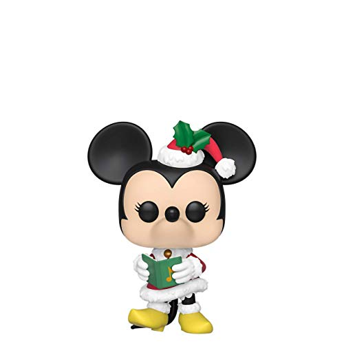 Funko- Pop Figura in Vinile Disney: Holiday-Minnie Collezione, Multicolore, 43331
