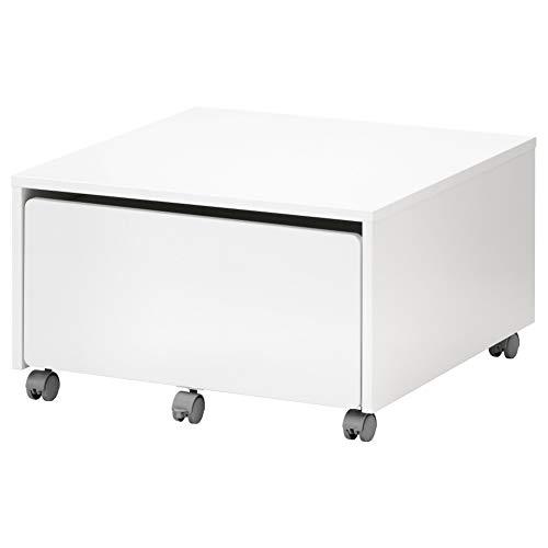 IKEA ASIA SLAKT - Caja de Almacenamiento con Ruedas