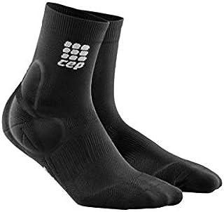CEP Men's Compression Ankle Support Short Socks, Black, Size IV