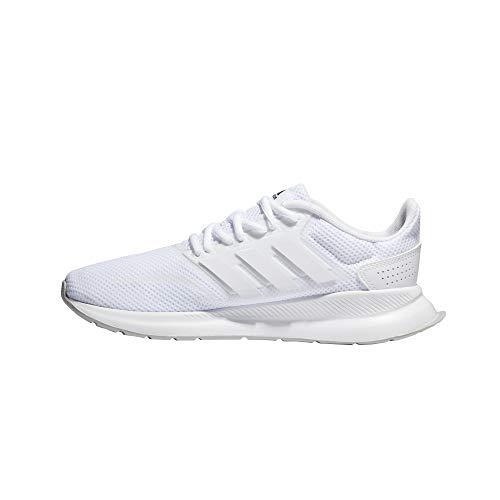 adidas Unisex Runfalcon K Traillaufschuhe, Weiß Footwear White Footwear White Grey 0, 40 EU