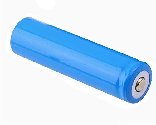 Baterías Recargables de 3,7 v 5000 mah Que cargan baterías de Litio con Placa Azul y de Punta para Linterna de celda de Iones de Litio 1 Pieza-2 Piezas