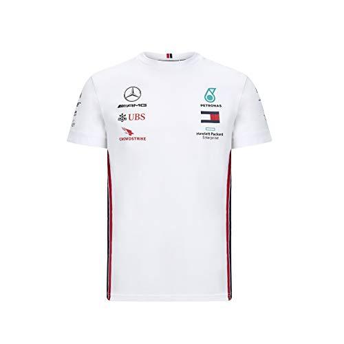 Herren Formel 1 Mercedes-AMG Petronas 2020 Team T-Shirt, Weiß, S