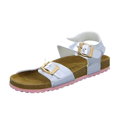 GIRLZ ONLY 485006/915 Mädchen Bio Sandalette, Größe 35