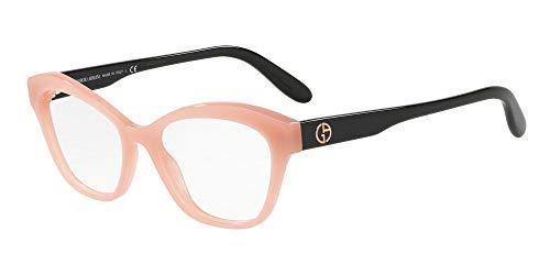Giorgio Armani 0AR7157 Monturas de gafas, Opal Pink, 53 para Mujer