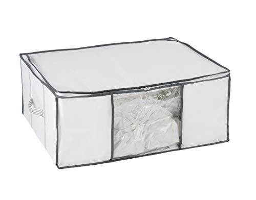 WENKO Vakuum Soft Box L, Polypropylen, 65 x 25 x 50 cm, Weiß