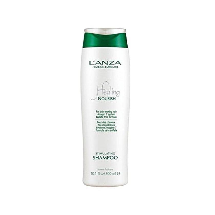 競争力のある入場先駆者L'Anza Healing Nourish Stimulating Shampoo (300ml) (Pack of 6) - アンザ治癒はシャンプーを刺激養う(300ミリリットル) x6 [並行輸入品]