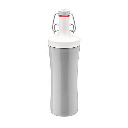Koziol Plopp to Go Trinkflasche 425 ml - Soft Grey