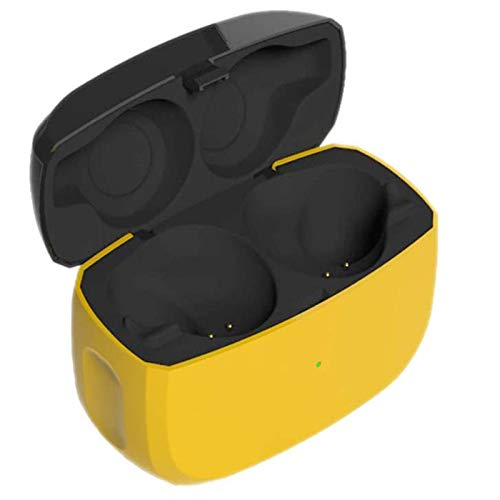 Replacement Charging Case Compatible with Jabra Elite Active 65t and Jabra Elite 65t, Earbuds Protective Substitute Cover with Built-in Battery (Charger Case Only, Earbuds not Included)