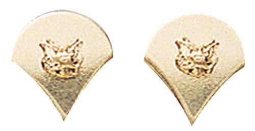 Rothco Spec-4 Polished Insignia, Gold