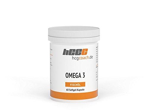Omega 3 Softgel-Kapseln (60 Stück á 500 mg)