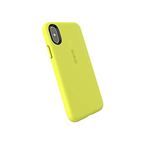 Speck Products CandyShell Fit iPhone Xs/iPhone X Case, Antifreeze Yellow/Antifreeze Yellow