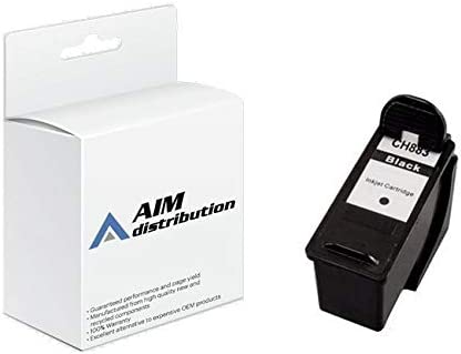 AIM Compatible Replacement for CTGDH828 Black Inkjet - Compatible to Dell CH883/DH828 - Generic