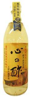 戸塚醸造店 純粋米酢 心の酢 500ml ×4セット