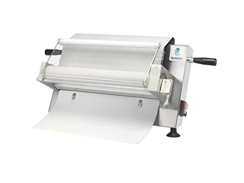 Maxy Sfogly Laminadora Electrica Fondant Número 1 para los Pasteleros Artesanos Italianos – Maquina Laminadora para Pasta Masa Fondant Modelado de Chocolate Hojaldre de 0 a 10 mm de Grosor