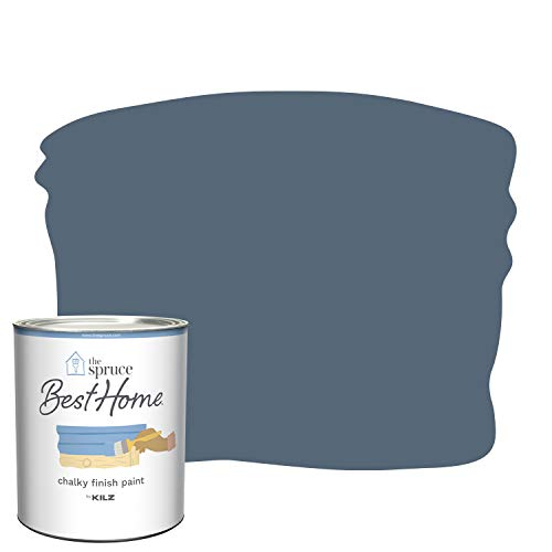 The Spruce Best Home by KILZ 15004 Chalky Finish Paint, 1 Quart, SPR-C12 Casual Sophistication