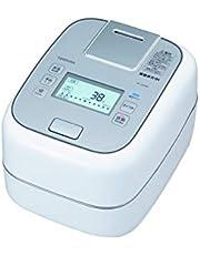 東芝 炊飯器 5.5合 真空 圧力IHジャー炊飯器 圧力+真空 合わせ炊き グランホワイト RC-10ZWM-W