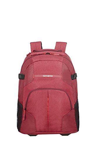 Samsonite Rewind, Mochila tipo casual, 55 cm, Rojo (Granita Red)