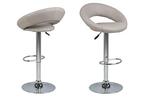 AC Design Furniture - Sgabello da bar, colore: Tortora