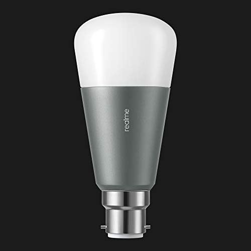 realme Smart WiFi LED Bulb (9W) B22 | Google Assistant & Alexa Support | 16 Million Colors | 13 Years of Lifespan