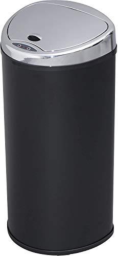 アイリスプラザ ゴミ箱 おしゃれ 自動 自動ゴミ箱 キッチン 生ゴミ ふた付き 68L 匂いが漏れない センサー ブラック