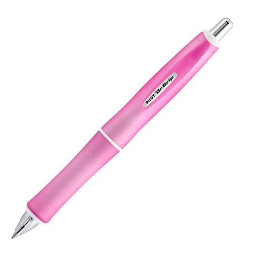 Pilot Dr Grip G-Spec Frost Color Ballpoint Pen - 07 mm Frost PinkBlack BDGS-60R-RP