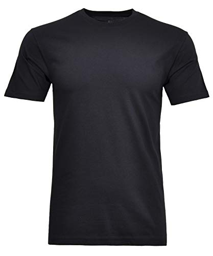 Ragman Herren T-Shirt Rundhals Singlepack L, Marine