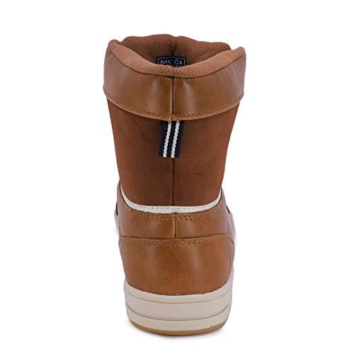 Nautica Mens Lockview Insulated Waterproof Snow Boot-Lockview-Tan 3-11